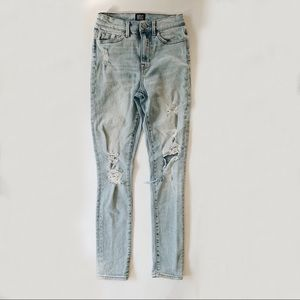 UO BDG Distressed Twig High Rise Jeans 25